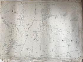 THIRTY 1:2500 ORDNANCE SURVEY MAPS featuring Ash Priors, West Quantoxhead, Treborough, Shopnoller,