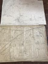 THIRTY 1:2500 ORDNANCE SURVEY MAPS featuring Bishops Hull, Nynehead, Howley, Raddington, Langford