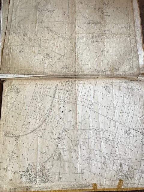 THIRTY 1:2500 ORDNANCE SURVEY MAPS featuring West Buckland, West Monkton, Dommett, Turlbear, Stoke - Image 4 of 16