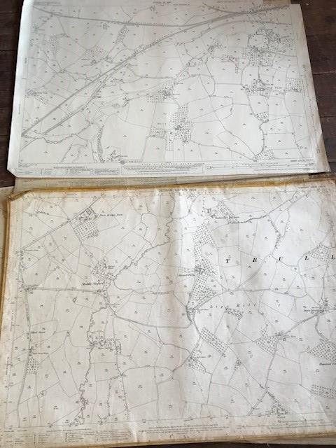 THIRTY 1:2500 ORDNANCE SURVEY MAPS featuring West Buckland, West Monkton, Dommett, Turlbear, Stoke - Image 3 of 16