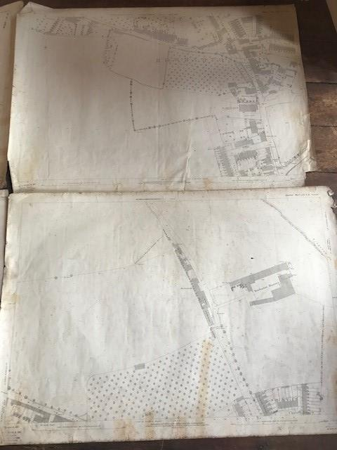 THIRTY 1:2500 ORDNANCE SURVEY MAPS relating to Taunton featuring Stapelgrove, Thornfalcon, Orchard - Image 10 of 15