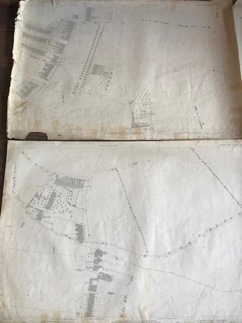 THIRTY 1:2500 ORDNANCE SURVEY MAPS relating to Taunton featuring Stapelgrove, Thornfalcon, Orchard - Image 9 of 15