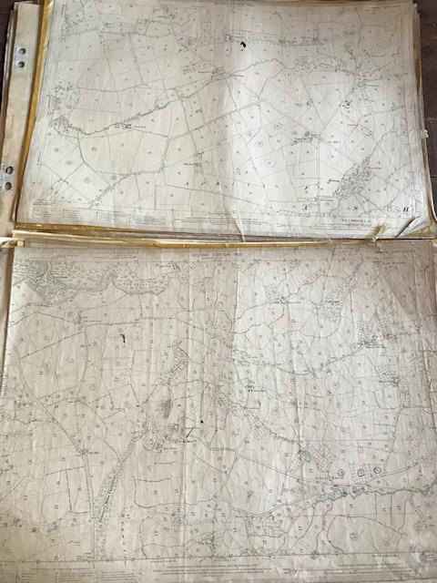THIRTY 1:2500 ORDNANCE SURVEY MAPS featuring West Buckland, West Monkton, Dommett, Turlbear, Stoke - Image 14 of 16