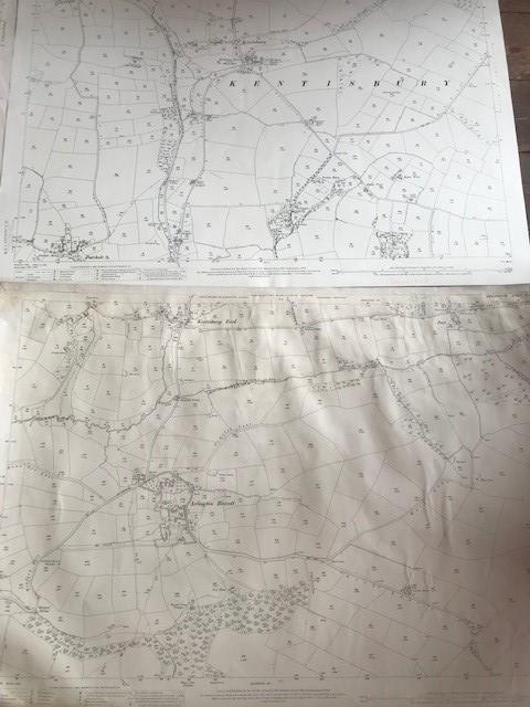 THIRTY 1:2500 ORDNANCE SURVEY MAPS featuring South Petherton, Stoke sub Hambdon, Stocklinch, White - Image 5 of 16