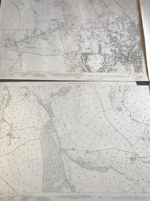 THIRTY 1:2500 ORDNANCE SURVEY MAPS featuring South Petherton, Stoke sub Hambdon, Stocklinch, White - Image 7 of 16