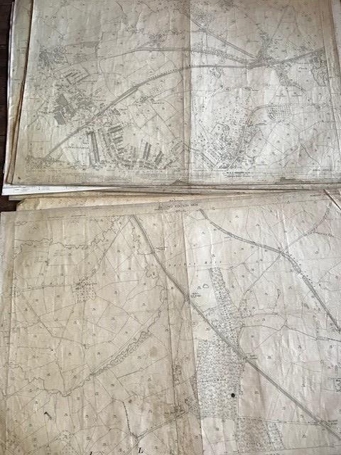 THIRTY 1:2500 ORDNANCE SURVEY MAPS featuring West Buckland, West Monkton, Dommett, Turlbear, Stoke - Image 5 of 16