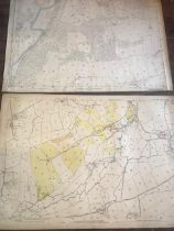 THIRTY 1:2500 ORDNANCE SURVEY MAPS featuring Clyst St Lawrence, Wolverstone, Hele, Sampford