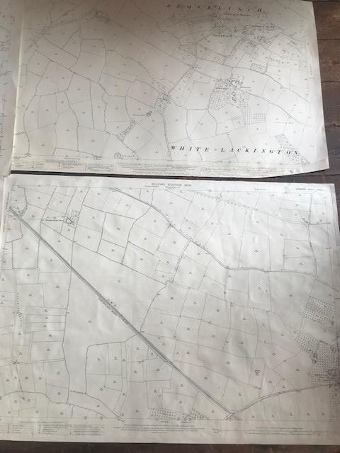 THIRTY 1:2500 ORDNANCE SURVEY MAPS featuring South Petherton, Stoke sub Hambdon, Stocklinch, White - Image 14 of 16