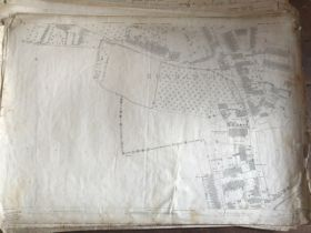 THIRTY 1:2500 ORDNANCE SURVEY MAPS relating to Taunton featuring Stapelgrove, Thornfalcon, Orchard