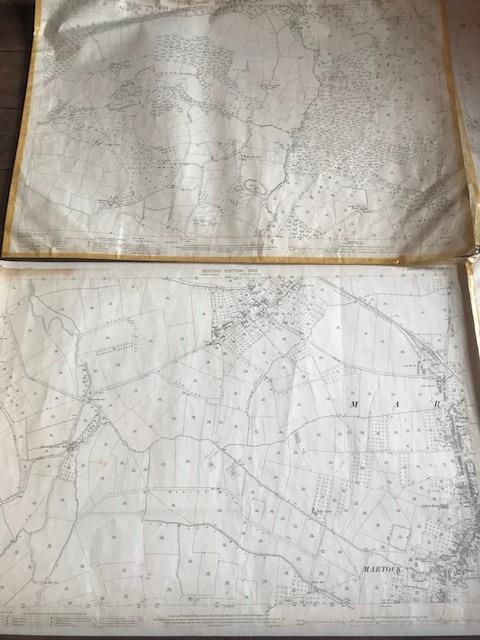 THIRTY 1:2500 ORDNANCE SURVEY MAPS featuring South Petherton, Stoke sub Hambdon, Stocklinch, White - Image 13 of 16