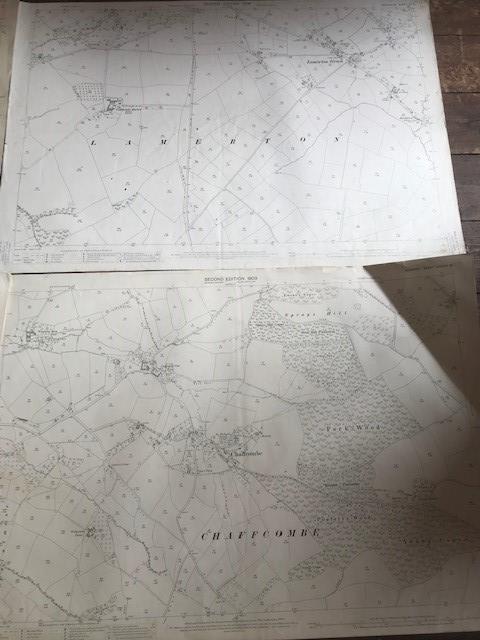 THIRTY 1:2500 ORDNANCE SURVEY MAPS featuring South Petherton, Stoke sub Hambdon, Stocklinch, White - Image 2 of 16