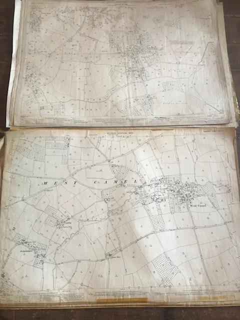 THIRTY 1:2500 ORDNANCE SURVEY MAPS featuring Upcott, Hillfarrance, Nynehead, Norton Fitzwarren, - Image 9 of 16