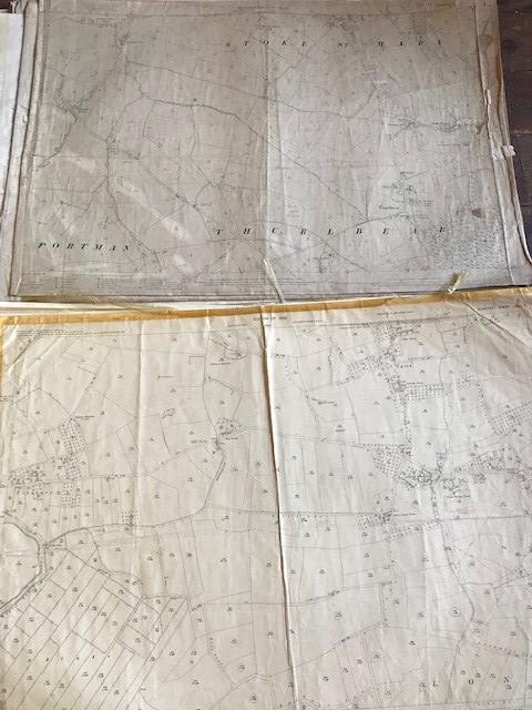 THIRTY 1:2500 ORDNANCE SURVEY MAPS featuring West Buckland, West Monkton, Dommett, Turlbear, Stoke - Image 12 of 16