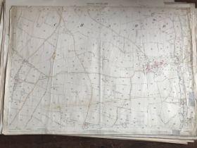 THIRTY 1:2500 ORDNANCE SURVEY MAPS featuring Stocklinch, White Lackington, Martock, Norton Sub