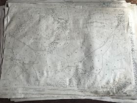 THIRTY 1:2500 ORDNANCE SURVEY MAPS featuring Hookway, Filleigh, Tiverton, Buckshayes, Chapelhayes,