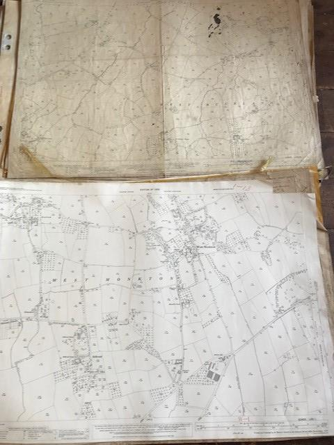 THIRTY 1:2500 ORDNANCE SURVEY MAPS featuring West Buckland, West Monkton, Dommett, Turlbear, Stoke - Image 15 of 16