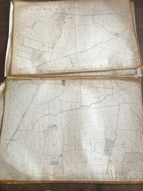 THIRTY 1:2500 ORDNANCE SURVEY MAPS featuring Upcott, Hillfarrance, Nynehead, Norton Fitzwarren, - Image 10 of 16