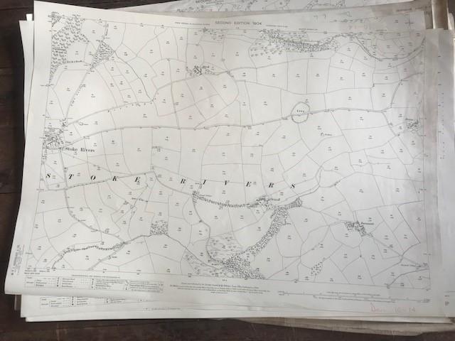 THIRTY 1:2500 ORDNANCE SURVEY MAPS featuring South Petherton, Stoke sub Hambdon, Stocklinch, White - Image 16 of 16