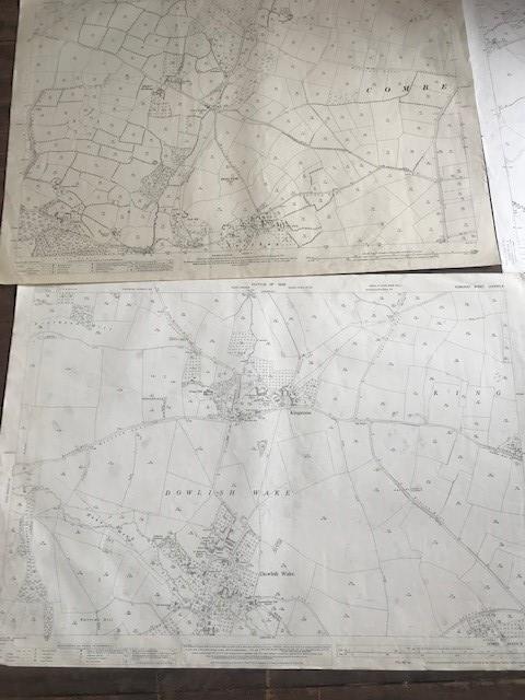 THIRTY 1:2500 ORDNANCE SURVEY MAPS featuring South Petherton, Stoke sub Hambdon, Stocklinch, White - Image 3 of 16