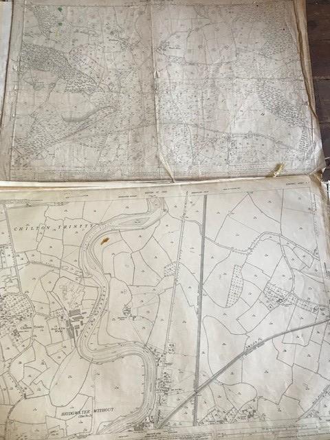 THIRTY 1:2500 ORDNANCE SURVEY MAPS featuring West Buckland, West Monkton, Dommett, Turlbear, Stoke - Image 11 of 16
