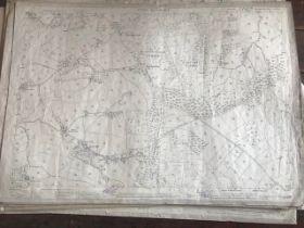 THIRTY 1:2500 ORDNANCE SURVEY MAPS relating to Blackborough, Culmstock, Sheldon, Dulford, Norman's