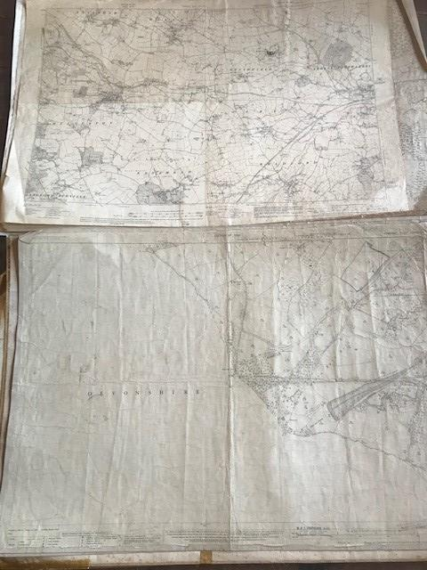 THIRTY 1:2500 ORDNANCE SURVEY MAPS featuring Upcott, Hillfarrance, Nynehead, Norton Fitzwarren, - Image 5 of 16