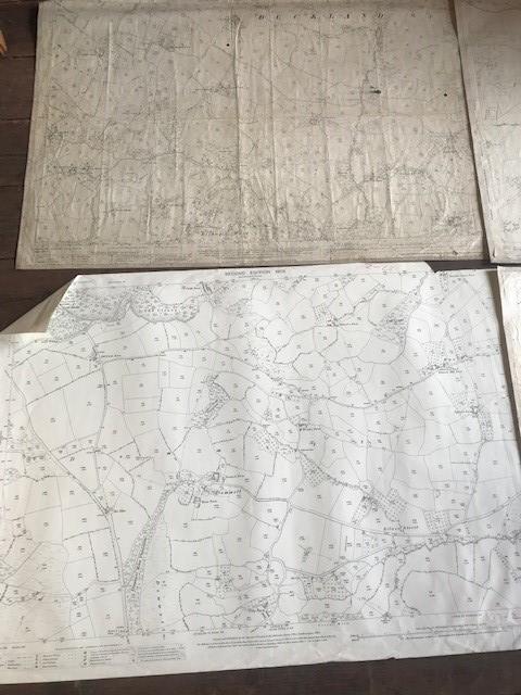 THIRTY 1:2500 ORDNANCE SURVEY MAPS featuring South Petherton, Stoke sub Hambdon, Stocklinch, White - Image 11 of 16