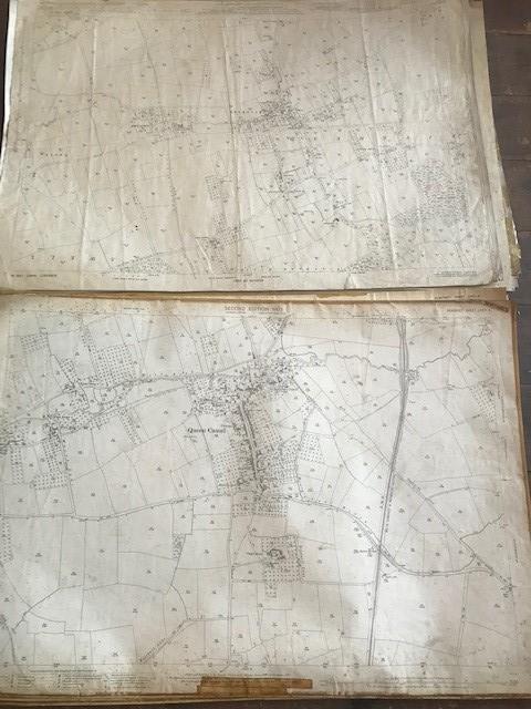 THIRTY 1:2500 ORDNANCE SURVEY MAPS featuring Upcott, Hillfarrance, Nynehead, Norton Fitzwarren, - Image 8 of 16