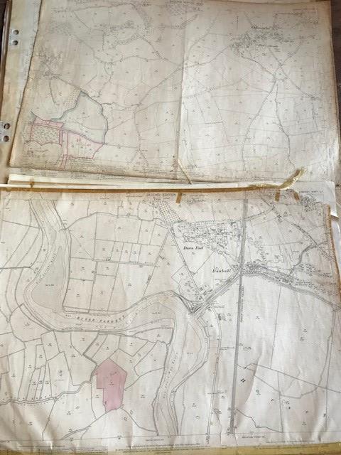 THIRTY 1:2500 ORDNANCE SURVEY MAPS featuring West Buckland, West Monkton, Dommett, Turlbear, Stoke - Image 10 of 16