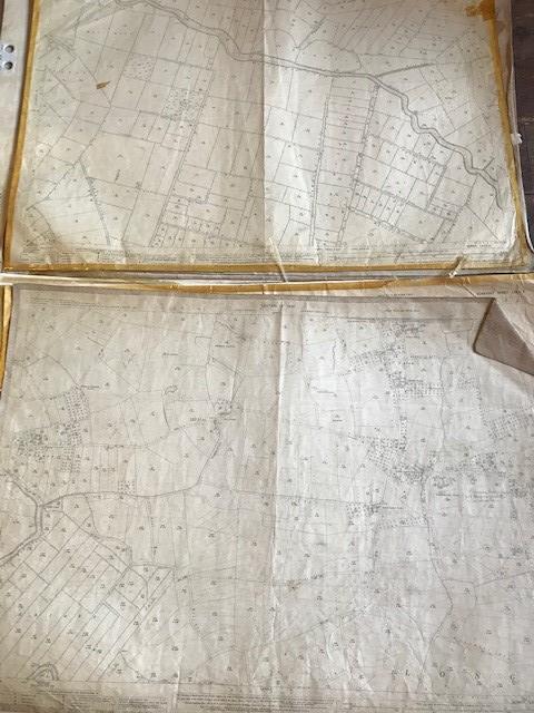 THIRTY 1:2500 ORDNANCE SURVEY MAPS featuring West Buckland, West Monkton, Dommett, Turlbear, Stoke - Image 13 of 16