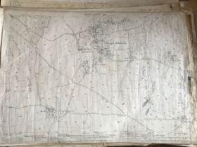 THIRTY 1:2500 ORDNANCE SURVEY MAPS relating to Sampford Arundel, Shepton Beaucamp, North Newton,