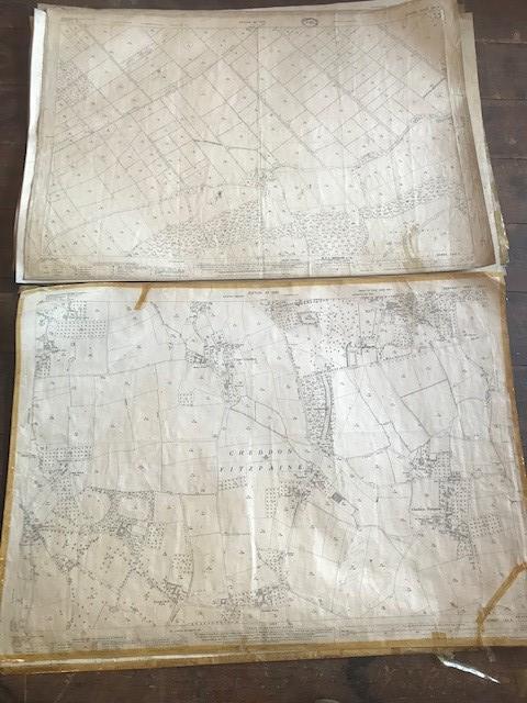 THIRTY 1:2500 ORDNANCE SURVEY MAPS featuring Upcott, Hillfarrance, Nynehead, Norton Fitzwarren, - Image 11 of 16