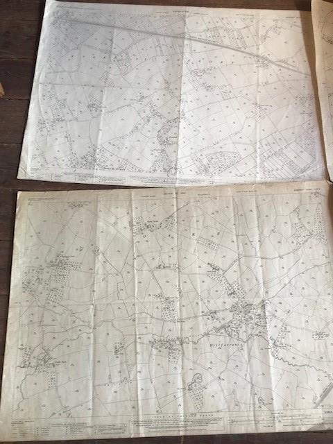 THIRTY 1:2500 ORDNANCE SURVEY MAPS relating to Taunton featuring Stapelgrove, Thornfalcon, Orchard - Image 4 of 15
