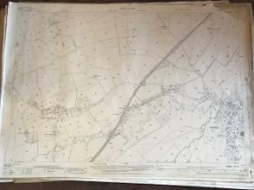 THIRTY 1:2500 ORDNANCE SURVEY MAPS featuring East Nynehead, West Bagborough, Broomfield, East