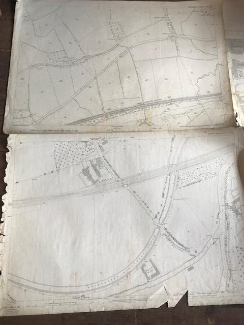THIRTY 1:2500 ORDNANCE SURVEY MAPS relating to Taunton featuring Stapelgrove, Thornfalcon, Orchard - Image 11 of 15