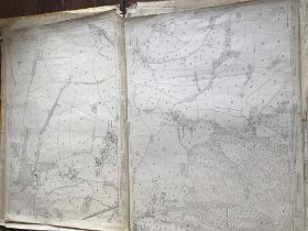 THIRTY 1:2500 ORDNANCE SURVEY MAPS featuring Bishops Lydeard, West Lucombe, Old Cleeve, Appledore,