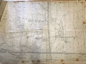 COLLECTION OF THIRTY 1:2500 ORDNANCE SURVEY MAPS covering Huish Episcopi; Blackdown Hills; West