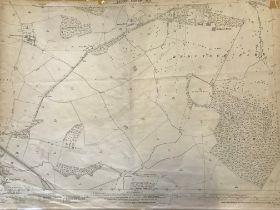COLLECTION OF THIRTY 1:2500 ORDNANCE SURVEY MAPS covering West Camel; Fitzroy; Queen Camel;
