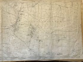 COLLECTION OF THIRTY 1:2500 ORDNANCE SURVEY MAPS covering Middle chinnock; Broadwindsor; Frome St