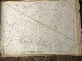COLLECTION OF THIRTY 1:2500 ORDNANCE SURVEY MAPS covering Milverton & Lower Lovelinch; Oake &