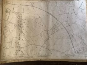COLLECTION OF THIRTY 1:2500 ORDNANCE SURVEY MAPS covering Fiddleford; Thorncombe; Tarrant Hinton;