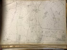 COLLECTION OF THIRTY 1:2500 ORDNANCE SURVEY MAPS covering Sellick's Green; Pitminster & Fulwood;