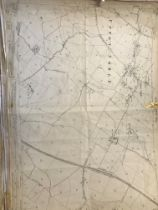 COLLECTION OF THIRTY 1:2500 ORDNANCE SURVEY MAPS covering Upton Noble; Barton St David; Taunton