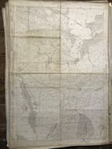 COLLECTION OF THIRTY 1:2500 ORDNANCE SURVEY MAPS covering Bowden; Biscombe; Chapelhayes,
