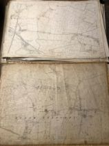 COLLECTION OF THIRTY 1:2500 ORDNANCE SURVEY MAPS covering Huisch Episcopi; West Hatch; Stolford;