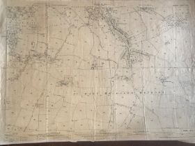 COLLECTION OF THIRTY 1:2500 ORDNANCE SURVEY MAPS covering Taunton: Wilton, Sherford and the
