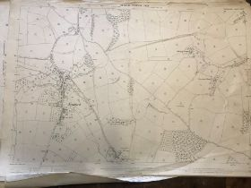 COLLECTION OF THIRTY 1:2500 ORDNANCE SURVEY MAPS covering Dunkerswell; Kennford; Luppitt;