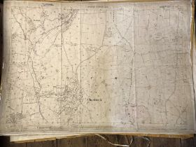 COLLECTION OF THIRTY 1:2500 ORDNANCE SURVEY MAPS covering Chardstock, Hook & Brockfield; West