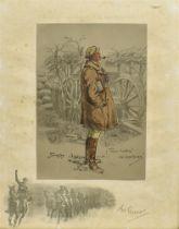 AFTER SNAFFLES (CHARLIE JOHNSON PAYNE) (BRISTISH 1884-1967) 'The 'Gunner', Good Hunting! Old