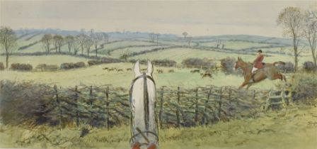 AFTER SNAFFLES (CHARLIE JOHNSON PAYNE) (BRISTISH 1884-1967) 'The finest view in Europe'', colour